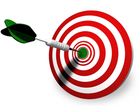 Bullseye clipart perfection. How to get on
