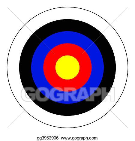 Stock illustration illustrations . Bullseye clipart perfection