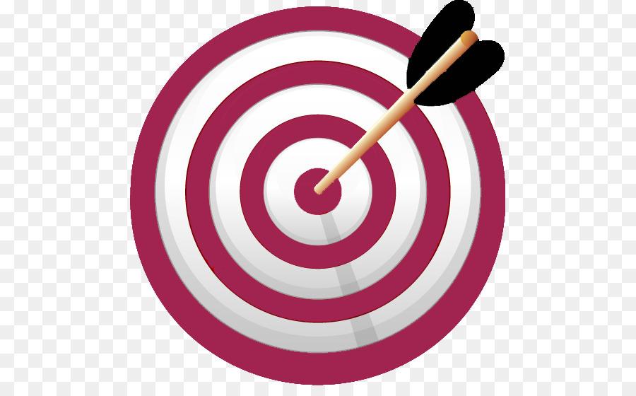 Learning target test of. Bullseye clipart pink