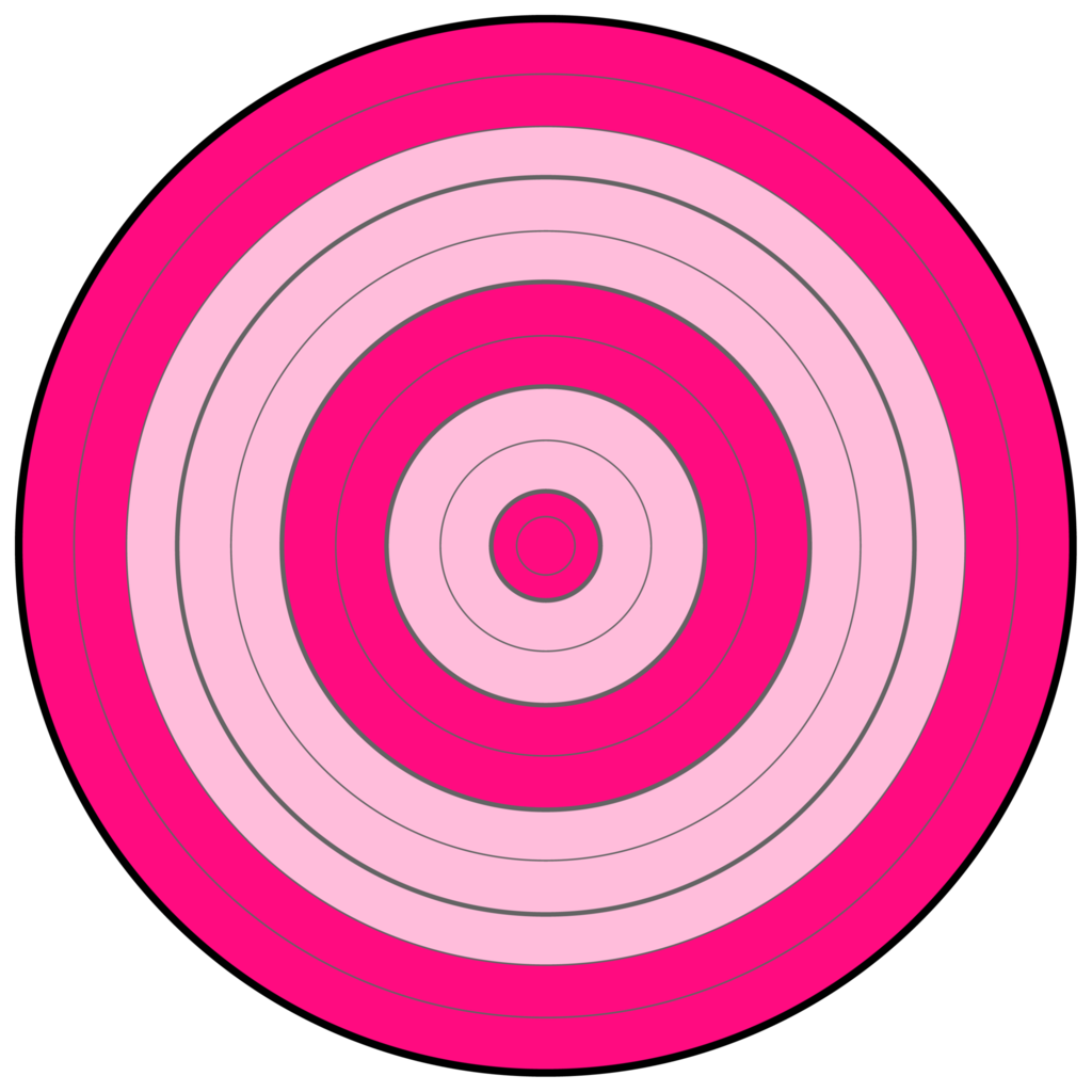 Target pencil and in. Bullseye clipart pink