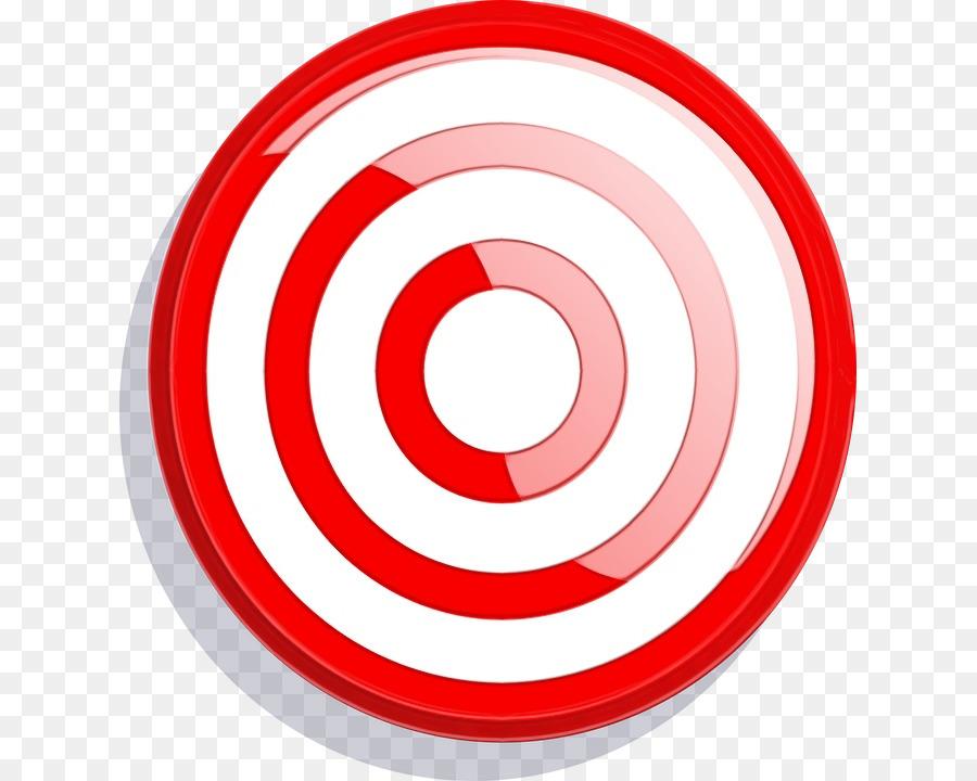 Circle background arrow . Bullseye clipart pink