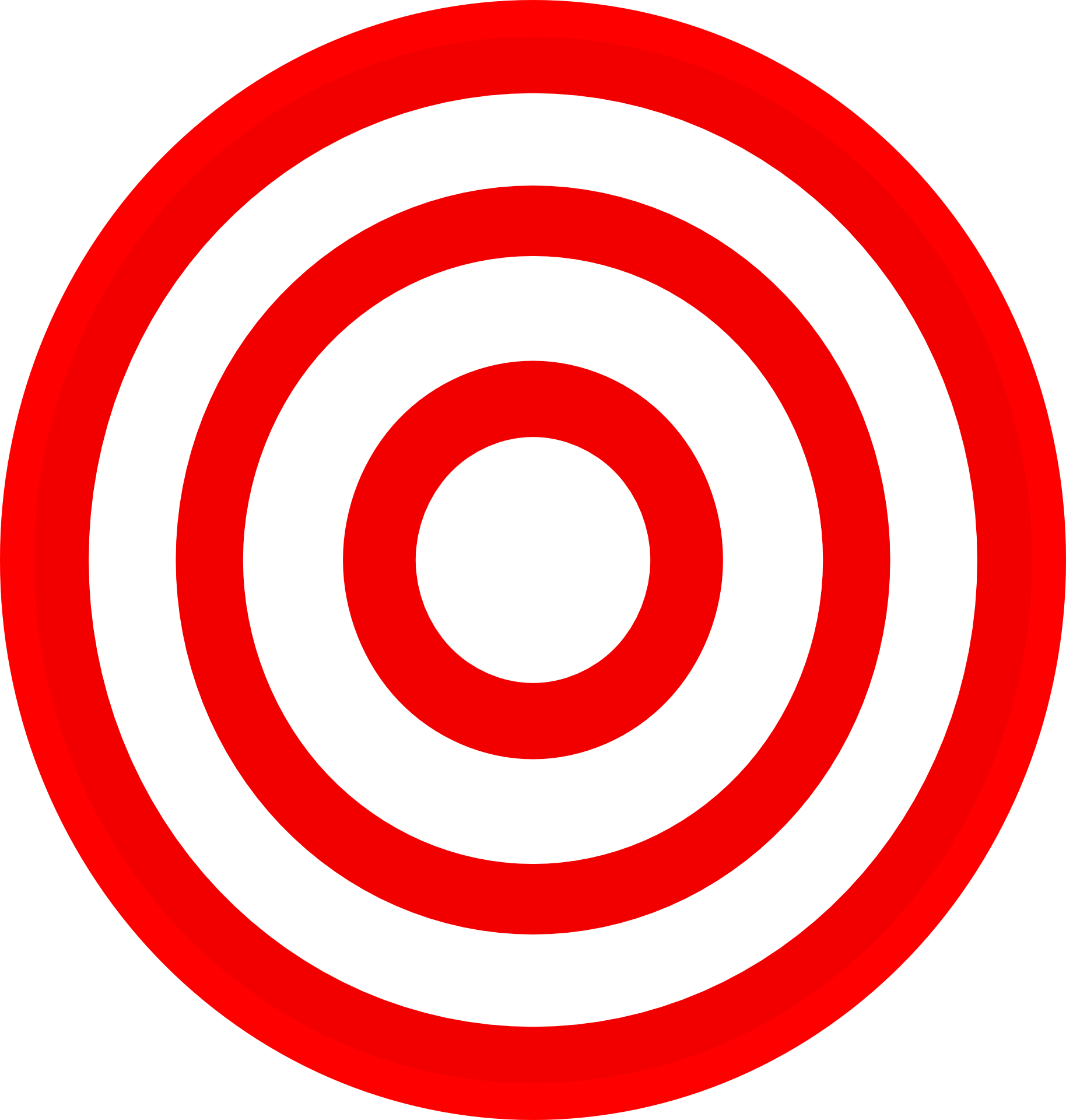 Darts shooting target clip. Bullseye clipart red