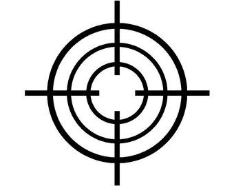 bullseye clipart scope