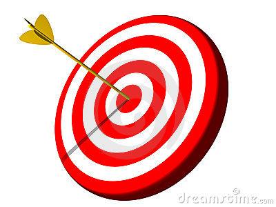 Bullseye clipart target clipart.