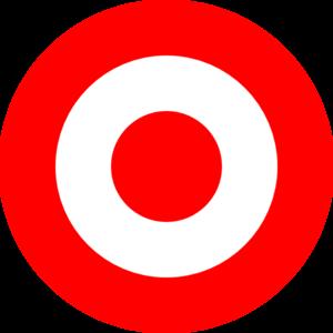 Red clip art at. Bullseye clipart target clipart