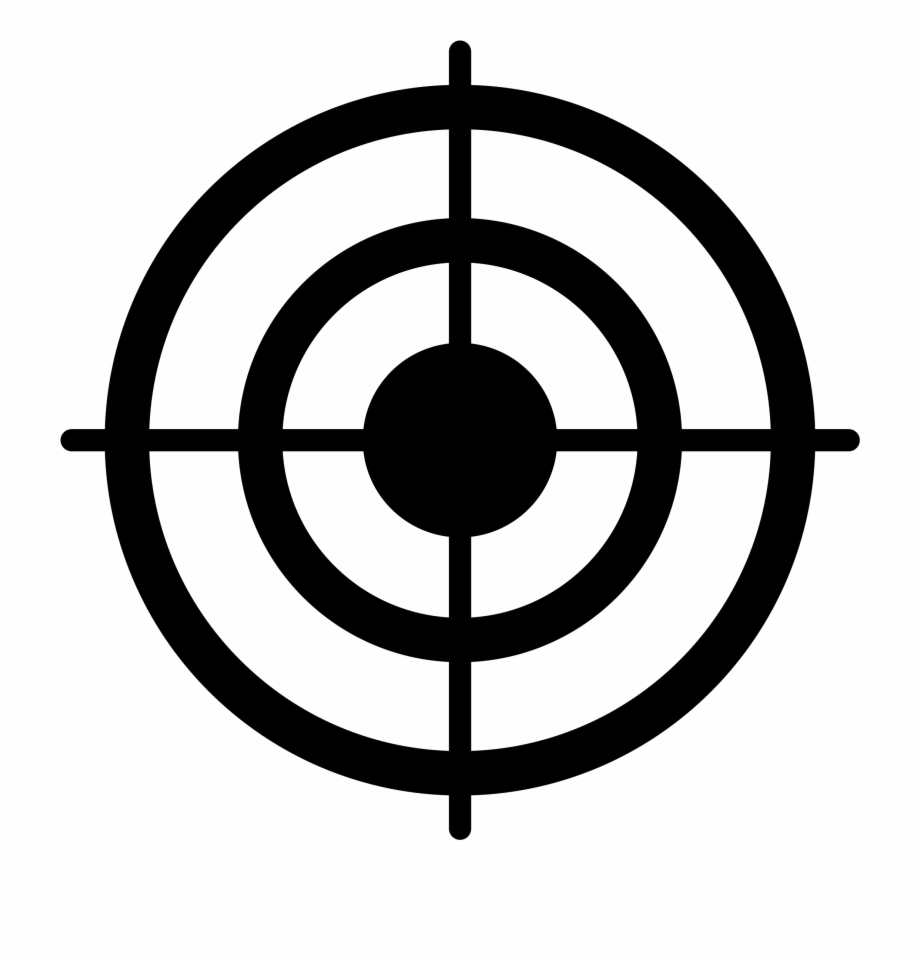 Bullseye clipart target clipart. Transparent png download for