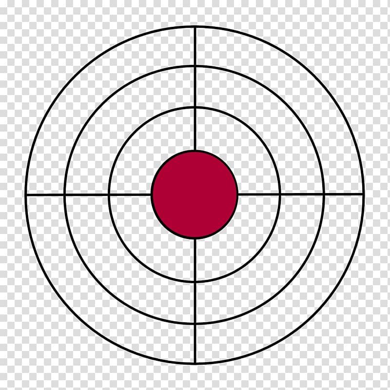 Black and red art. Bullseye clipart target gun