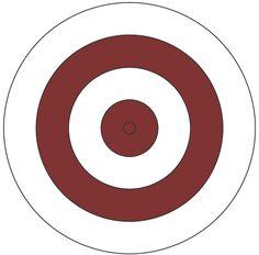 Bullseye clipart target gun. Shooting free download best