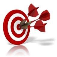 Symbol free image clip. Bullseye clipart target learning