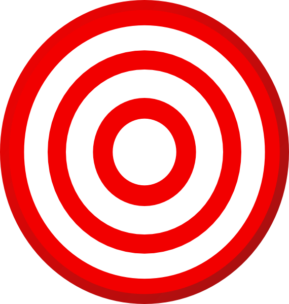 Shooting free content clip. Bullseye clipart target learning