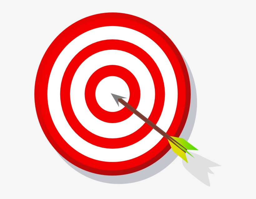Bullseye clipart target learning. Football player catching
