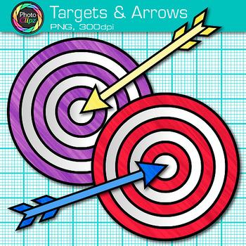 Bullseye clipart target learning. And arrow clip art