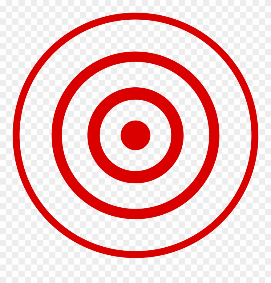Image library . Bullseye clipart transparent background