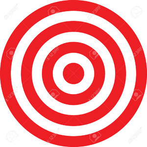 Bullseye clipart vector. Free images at clker