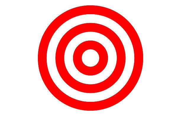 Picture of bulls eye. Bullseye clipart vector
