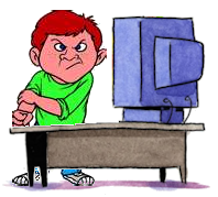 Bully clipart angry. Eliminate cyberbullying by nigel