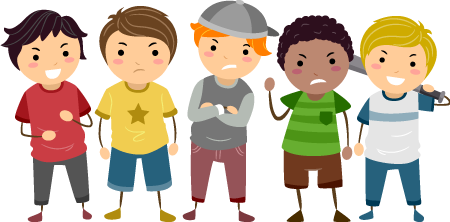 Case study cyber bullies. Bully clipart angry