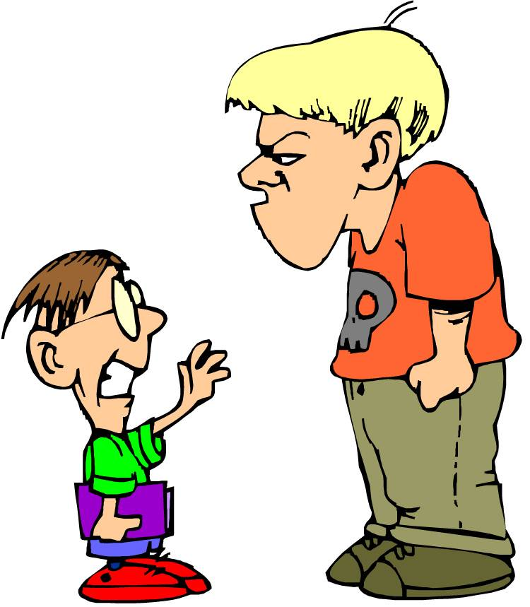 Bully clipart angry. Free pictures of a