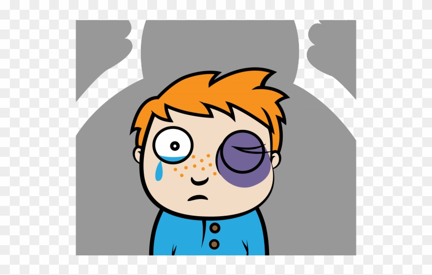 Fight physical bullying . Bully clipart animated