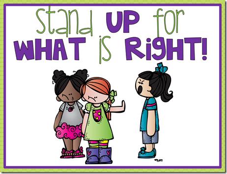 Free mini posters freebie. Bully clipart anti bullying