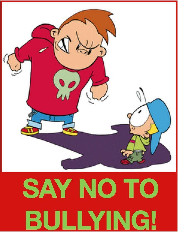 Bully clipart anti bullying. Just say no quotes