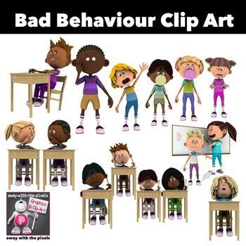 Bully clipart bad behaviour. Kids clip art color