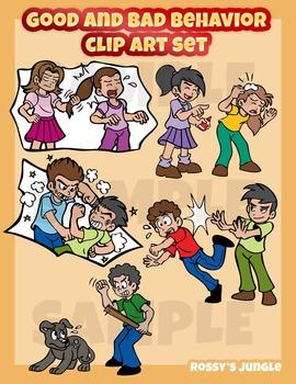 Good and behavior clip. Bully clipart bad behaviour