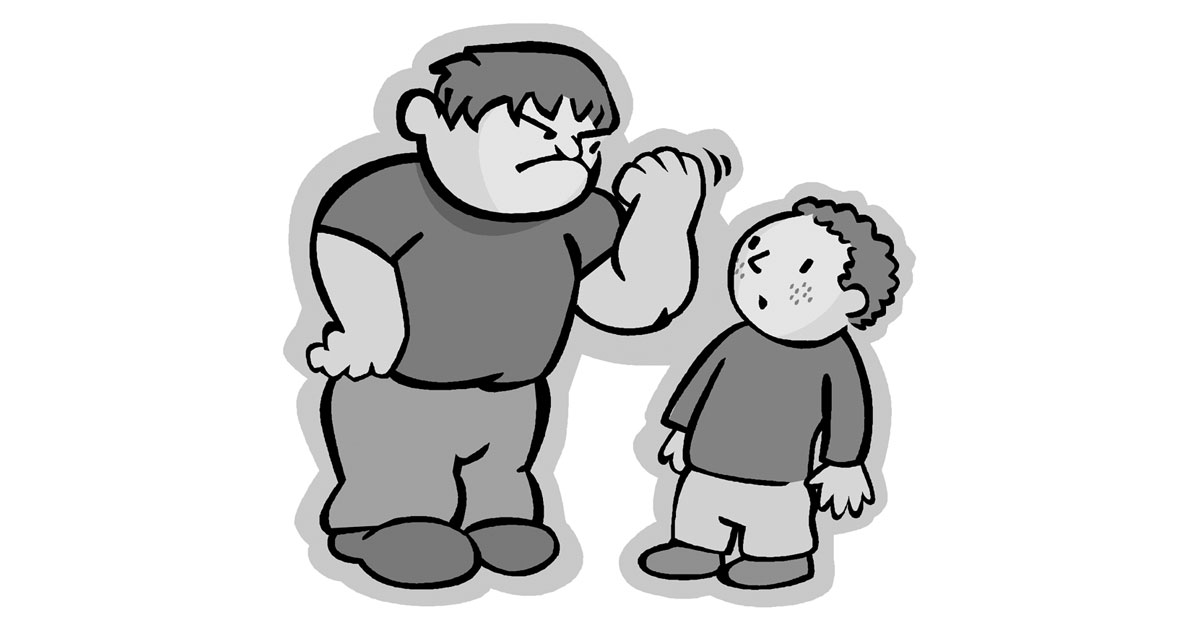 Finding better solutions to. Bullying clipart black and white