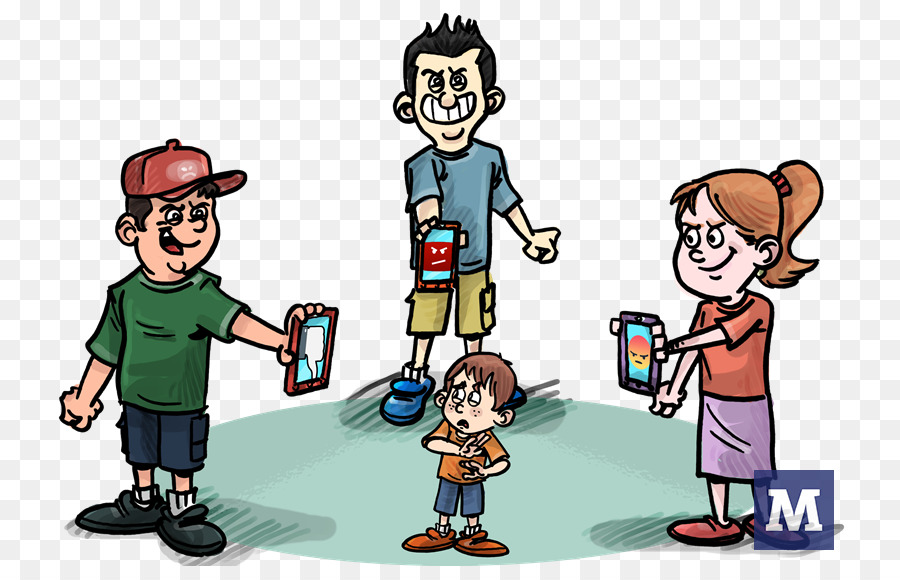 Cyberbullying violence observat rio. Bully clipart brusque