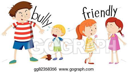 Vector stock and friendly. Bully clipart bully boy