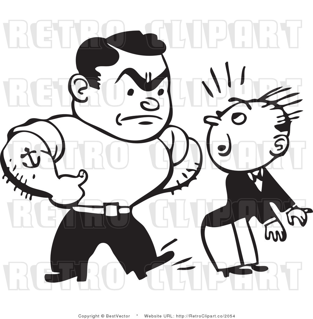 Bully clipart bully boy.  collection of black