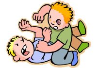 Bully clipart clip art. Bullying search illustration drawings