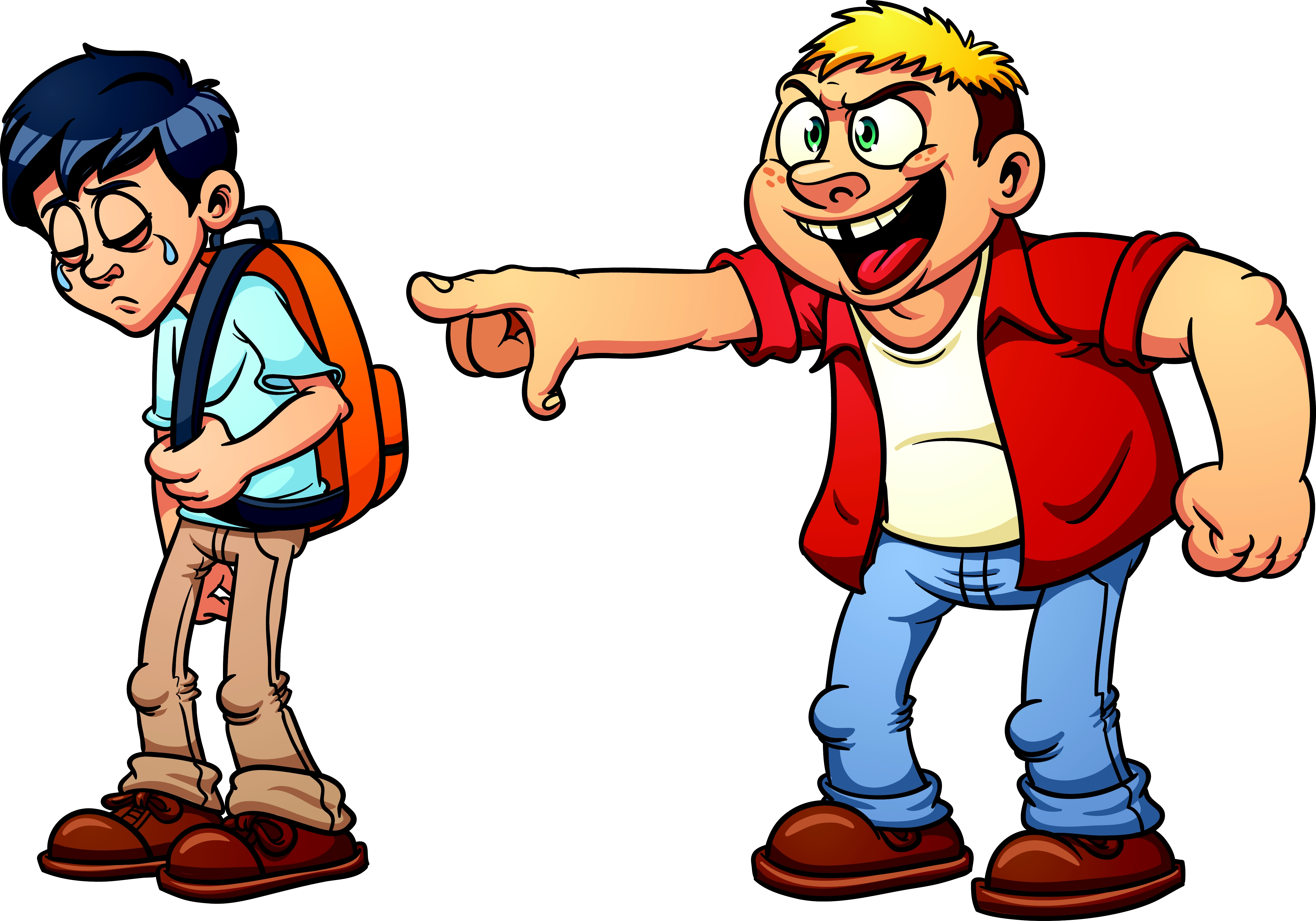 Awesome bullying gallery digital. Bully clipart clip art