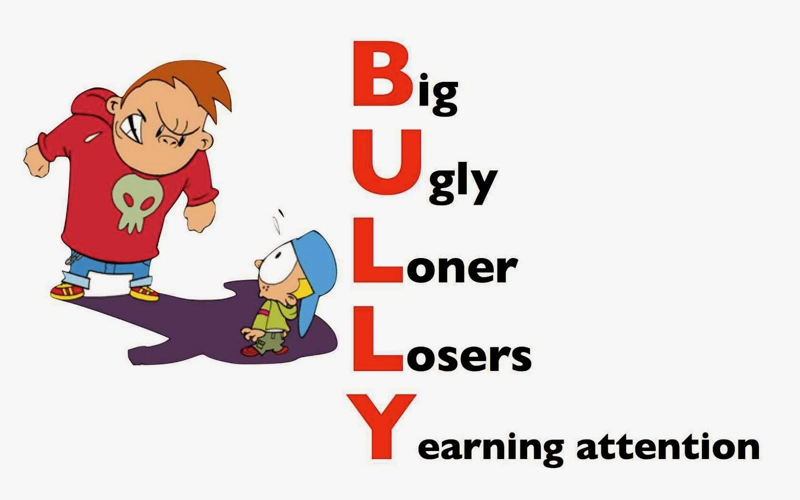 Jersey libertarian cyber bullying. Bully clipart coercion