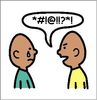 best ten commandments. Bullying clipart conflict