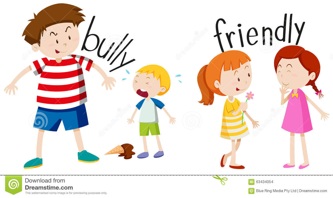 Bully clipart friends.  friendly clipartlook
