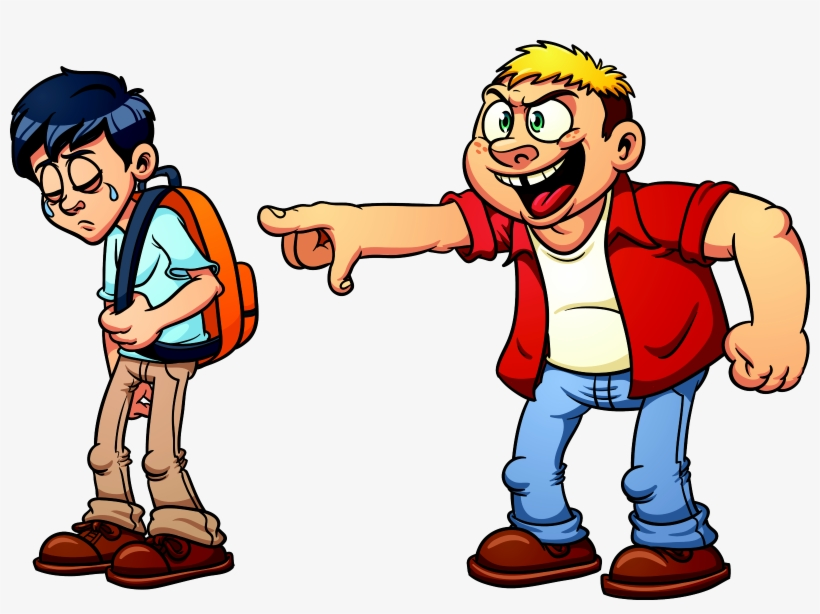 Bully clipart friends. Animated laughing group png