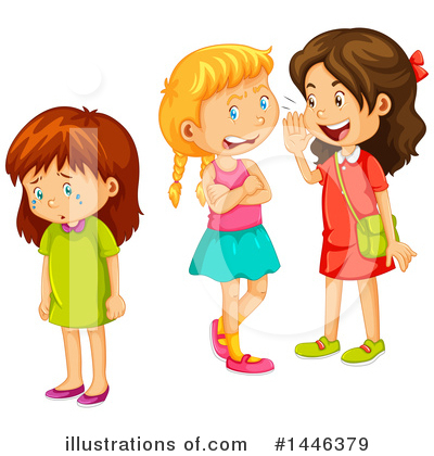 Illustration by graphics rf. Bully clipart girl bully