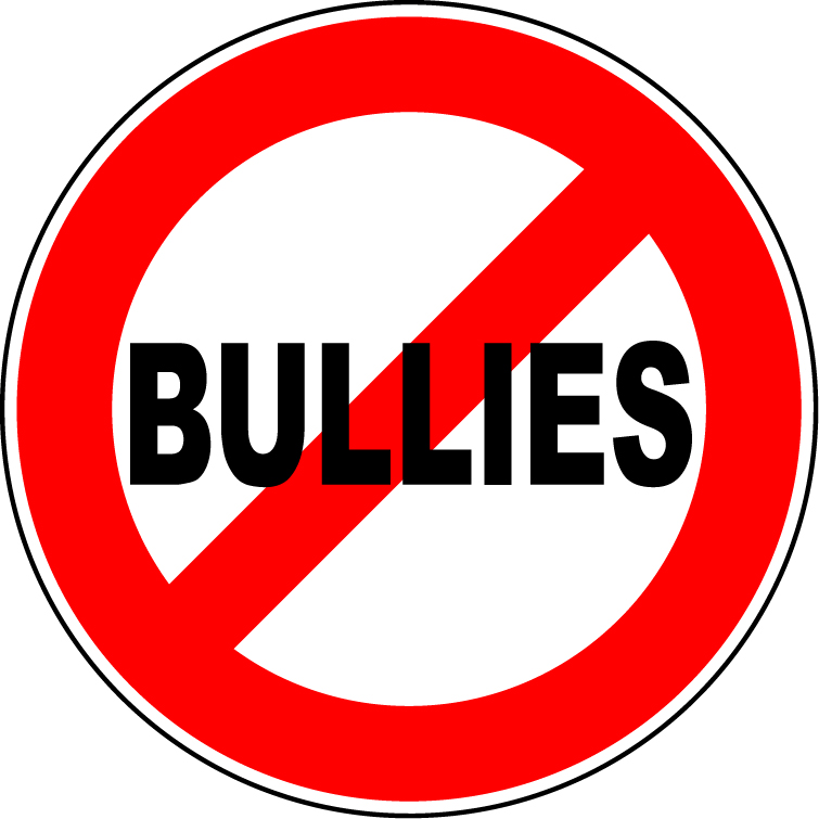 No group anti free. Bullying clipart word