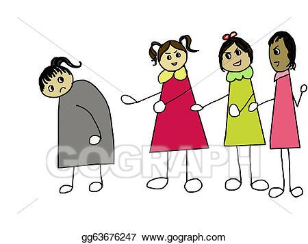 Stock illustration bullying drawing. Bully clipart hostile