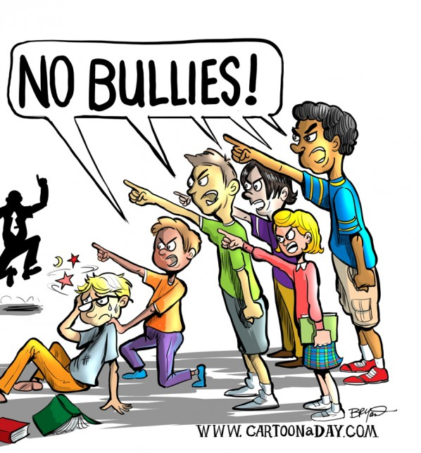 Aspergers bullying and intimidation. Bully clipart intimidating