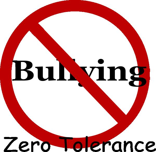 Bully clipart logo. No bullying clip art