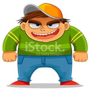 Cartoon premium clipartlogo com. Bully clipart logo