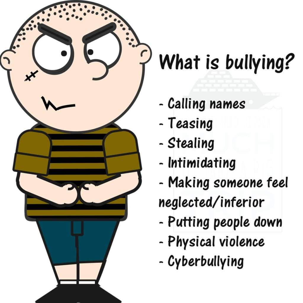 Bullying one geek of. Bully clipart name calling