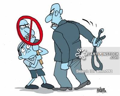 Bully clipart physical assault. Abuse cartoons and comics