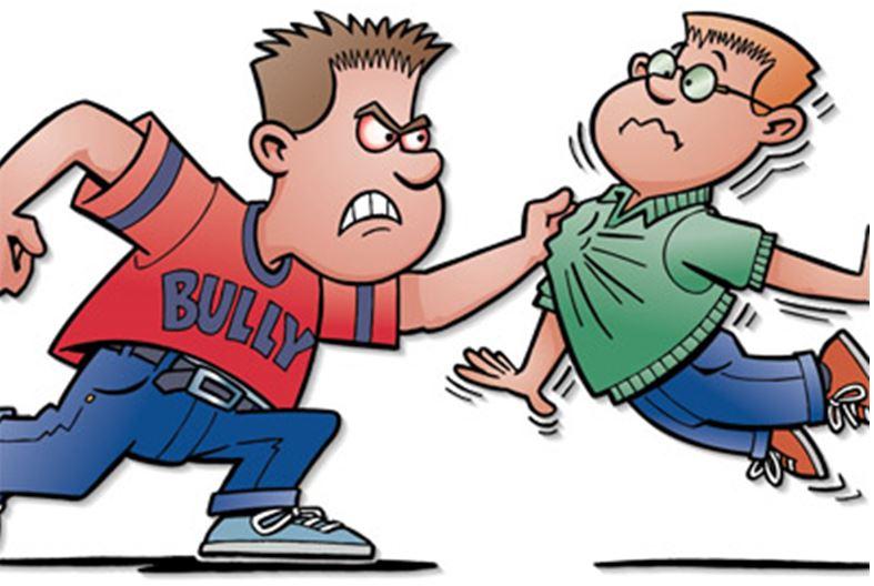 bully clipart physical assault