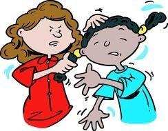 Bully clipart physical bullying. Cartoon are bullied by