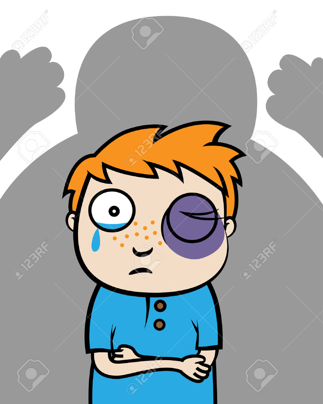 Cartoon pictures of bullies. Bully clipart physical bullying