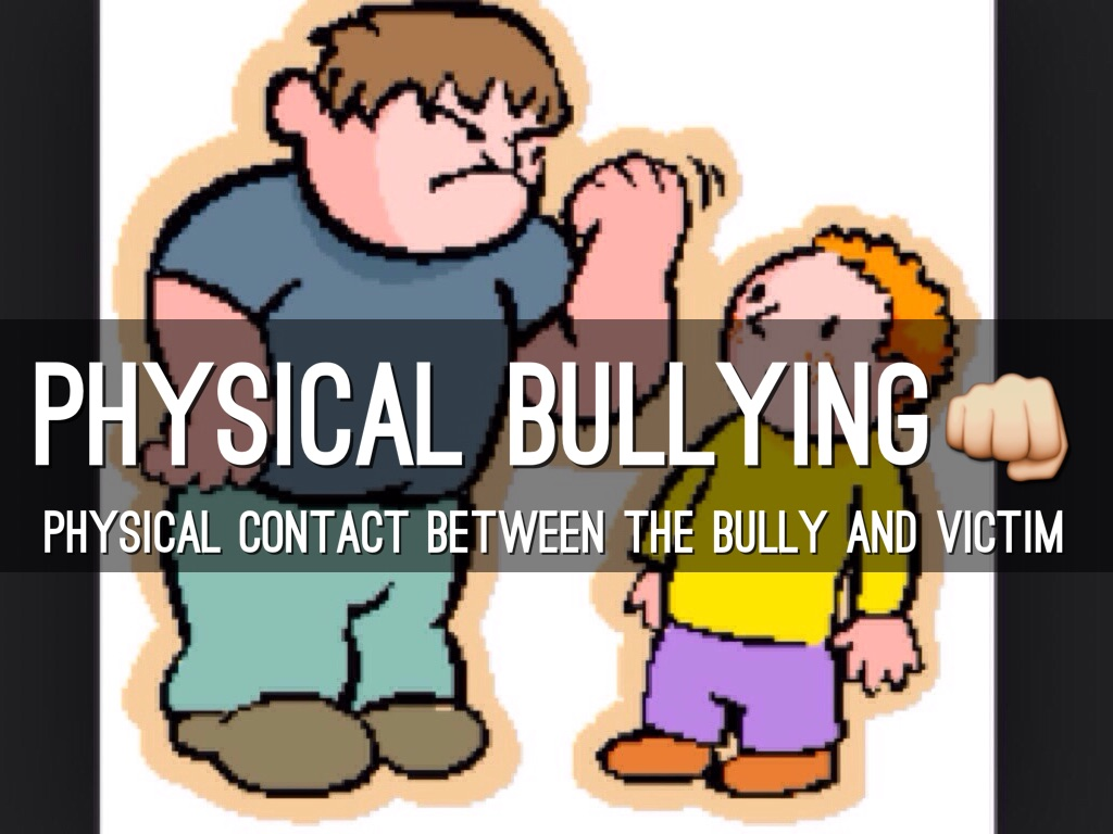 Bullying clipart physical contact. By alexandra allers
