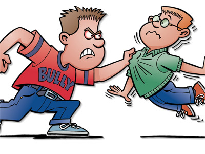Bullying on emaze. Bully clipart physical harassment